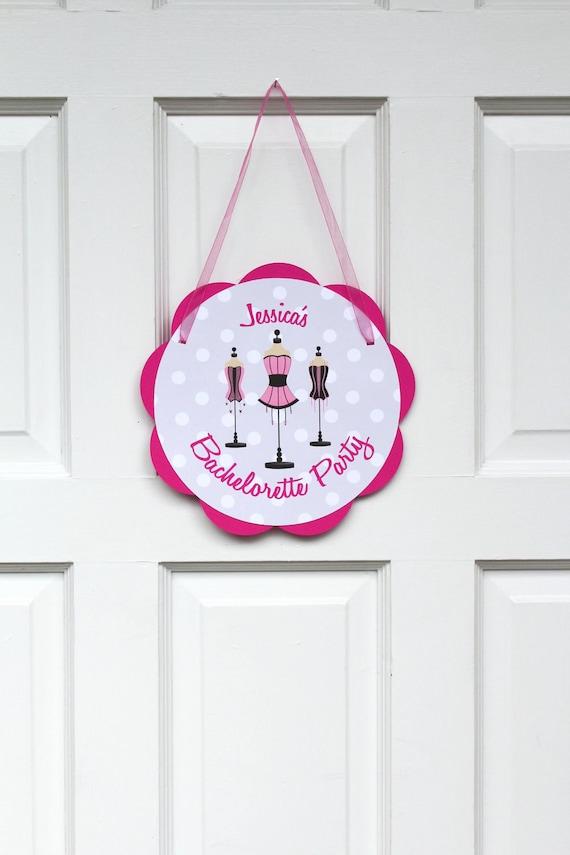 Bachelorette party decorations lingerie by getthepartystarted for Bachelorette party decoration