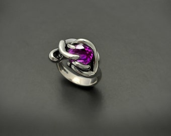 Thorn in my Pride ring - created Alexandrite