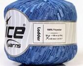 50gr ice knitting yarn ladder lavender online yarn blue knitting crochet supplies lilac bulky US 7 needles us size 13 needles scarf