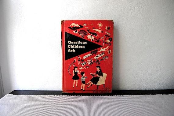Vintage Questions Children Ask Book