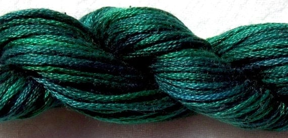 Ceder Hand Dyed Cotton Embroidery Floss Yarn