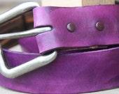 Brite Lite  leather belt