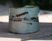 a Meadow Flower Metal Cuff
