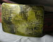 Circuit board and Green handmade Buckle for snap belt