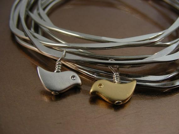 Custom Listing for Pam - Birds Nest Bangle Set