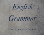 Antique Book   English Grammar   1943