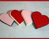 Wool Felt Play Food - Valentine's Day Heart Shaped Sugar Cookie - Waldorf  Inspired Accessory for Imaginative Play