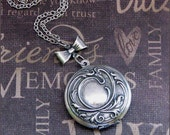 Silver Locket Necklace - Enchanted Immortal Love - Jewelry by TheEnchantedLocket - STUNNING Graduation Wife Wedding Bride Gift