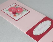 Thank you card, paper quilling