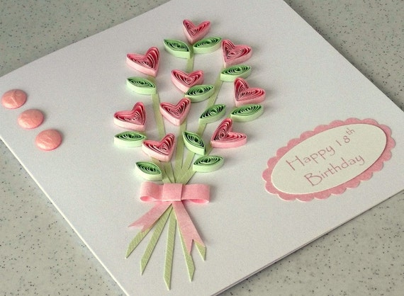 Quilling Ideas For Birthday Cards