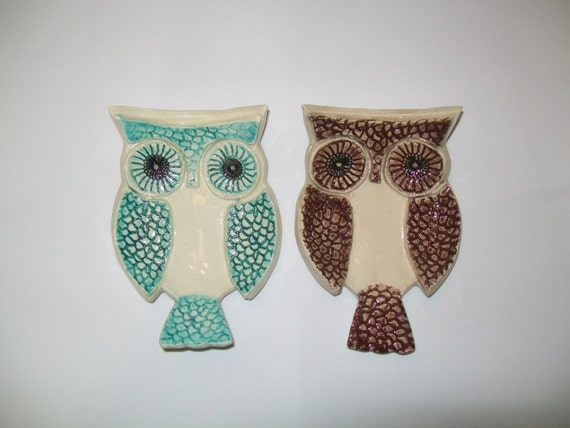 OWL SPOON REST\/ TRINKET DISH