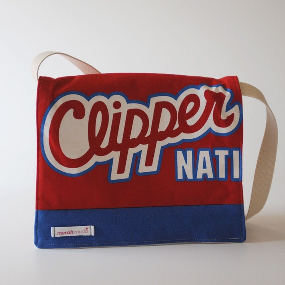Messenger Bag, LA Clippers