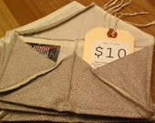 Light Purple Fabric Envelope Wallet - Mens