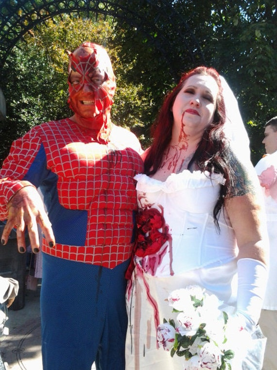 Zombie Mary Jane for Spiderman or Dead Bridal Costume