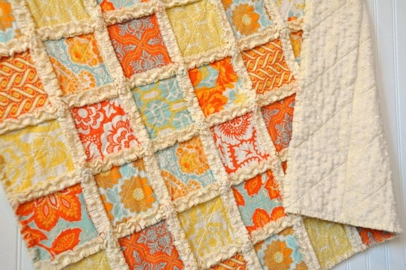 Rag Quilt - Heirloom