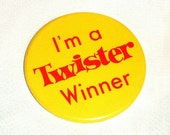 Twister Game Pinback, Vintage Twister, Vintage Pin, Toys, Twister Game by NewYorkMarketplace on Etsy