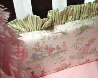 Toile Crib Bumpers