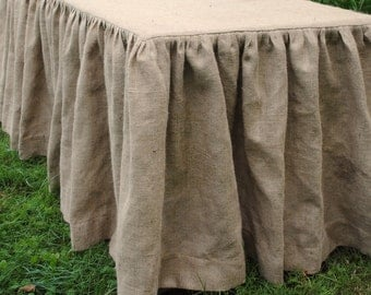 Sale Sale  Price is 20.00 off  no coupon need,  Burlap Tablecloth