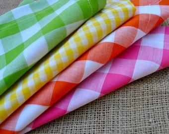 Gingham Napkins Set of 8