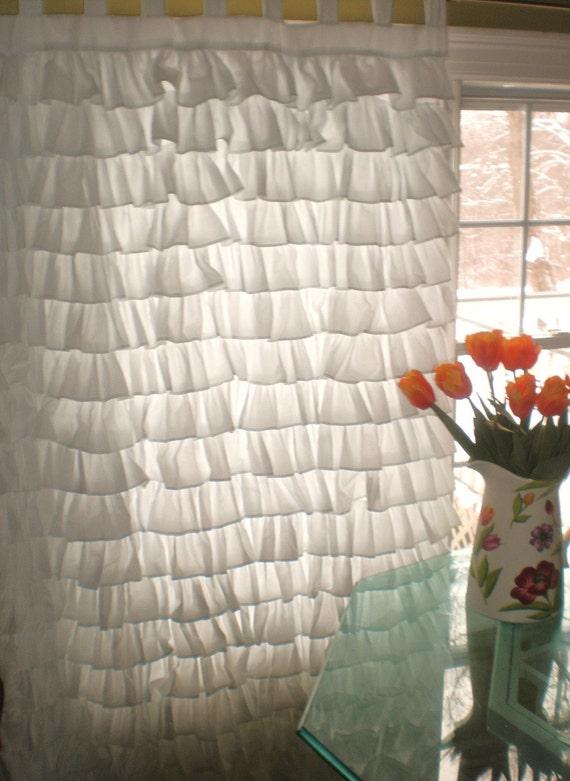 Small Ruffles Curtain