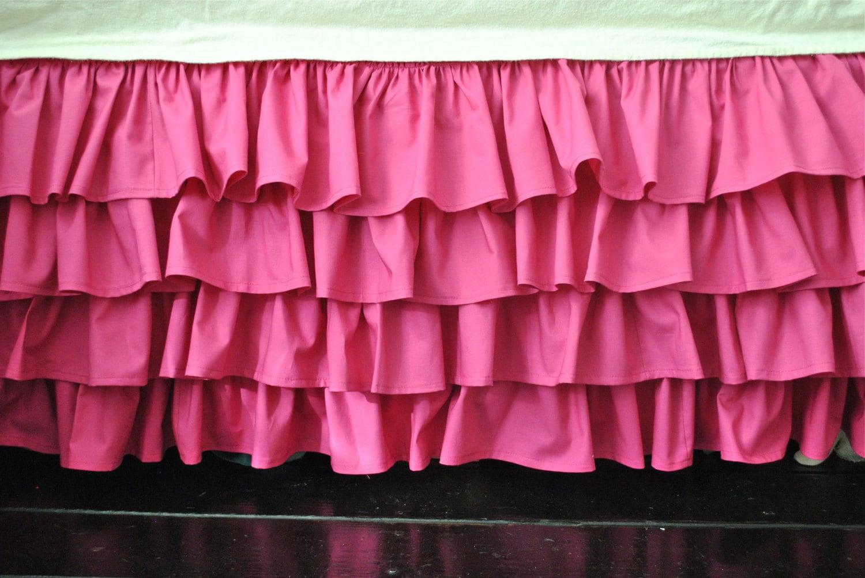 Ruffled Crib Skirt 19
