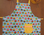 RESERVED FOR JEAN- Sweet Treats- Child Apron (size 8)