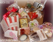 Chocolate themed sampler box