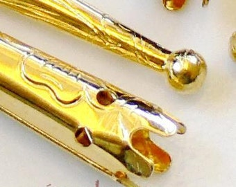53mm Gold Plated Bolo Tips Bola 8