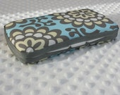 Baby Wipes Case....Amy Butler Lotus Blue Sky Wall Flower