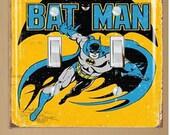 Batman Light Switch Wallplate Cover
