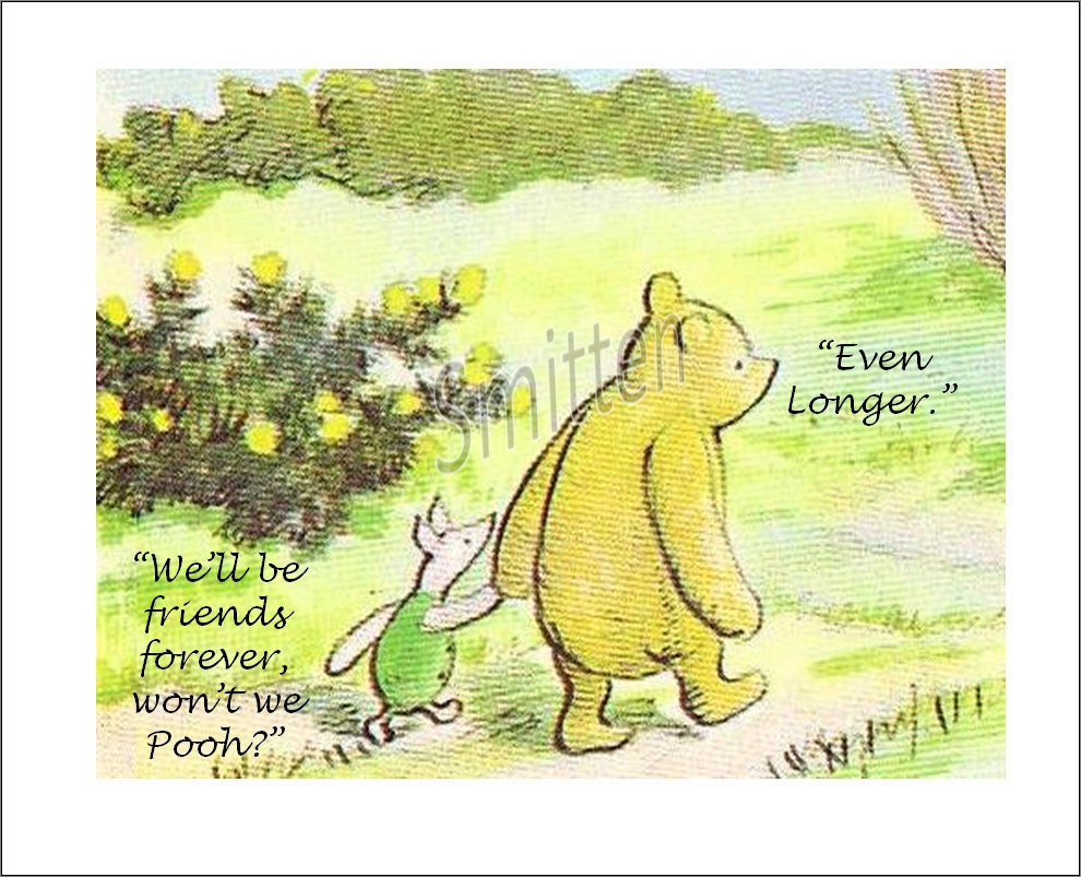 Pooh Quotes About Friendship Friendship Quotes Pooh Piglet Gallery For Gt Winnie The Pooh And