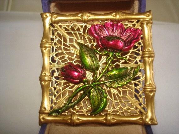Flower Brooch KL Design