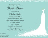 Bridal Shower Invitation - Bride