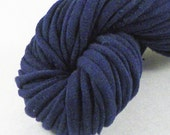 SALE Navy Recycled T-shirt Yarn