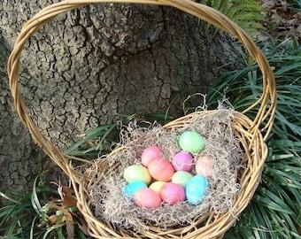 DIY KIT Freeform Garden Basket Kit, Easter, How-To Weave with Vines, How to Make A Random Weave Basket, Basketry, Basket Making Kit Complete