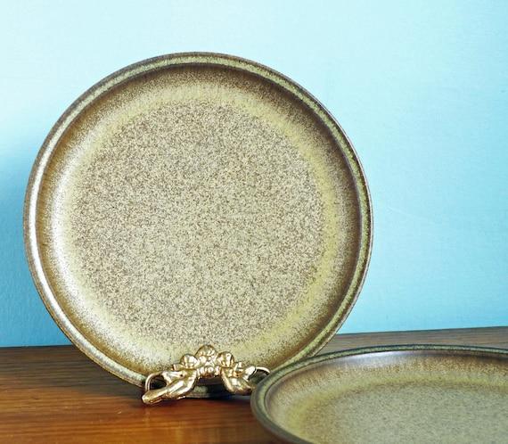 Denby Romany Bread Plates Pair