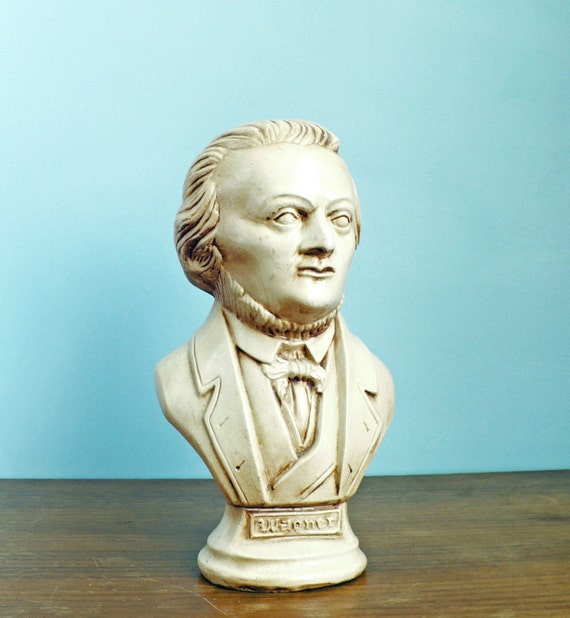 Wagner Chalkware Bust
