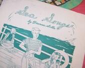 Vintage Sheet Music - Sea Songs - Children's Music