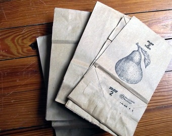 No 2 Small Brown Paper Bags