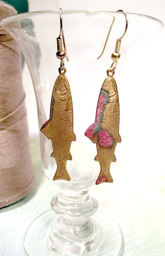 Lucky  fish earrings