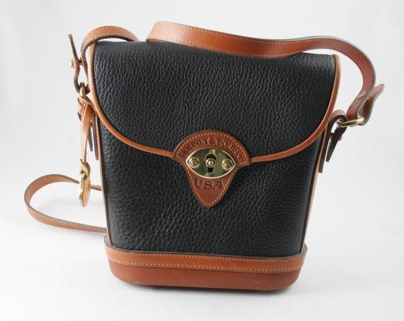 Dooney and Bourke Shoulder bag leather saddle bag style