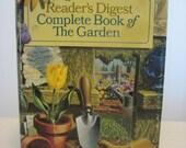 vintage reader's digest complete book of the garden