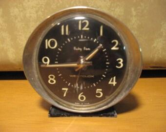 vintage baby ben wind up alarm clock