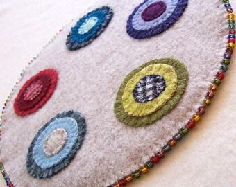 Beginner Wool Penny Rug Kit