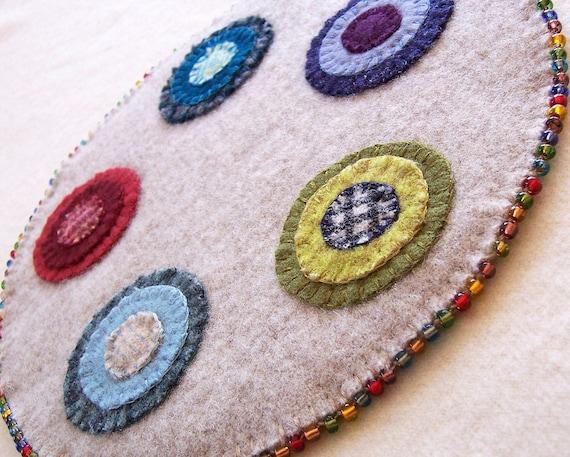 Wool Penny Rug Kit
