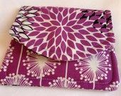 Purple Burst Mini Wallet