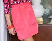 Tulip Skirt- Salmon
