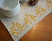 Yellow Floral Tea Towels