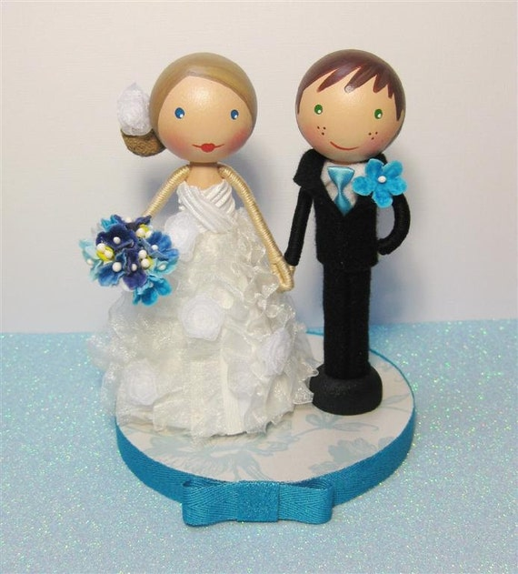 doll wedding cake custom clothespin doll wedding cake topper payment 13693