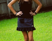 INSTANT Download SIG Genevieve Pocket Skirt - Sewing Pattern for youth/tween sizes 6 to 16